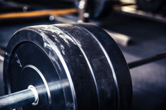 Closeup image of a fitness equipment Royalty Free Stock Images