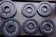 Closeup image of a fitness equipment Stock Images