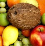 A closeup image of fresh and tasty fruits Stock Photos