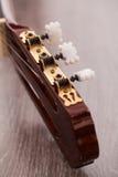 Closeup image of guitar fingerboard Stock Images