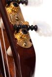 Closeup image of guitar fingerboard Stock Photos