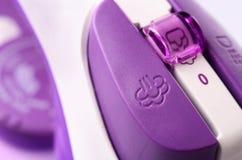 Closeup image of iron button Stock Images