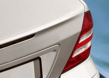 Closeup image of a mercedes Royalty Free Stock Images