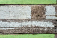 Closeup image of old color hardwood plank for background Stock Photography