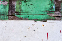 Closeup image of old rusty color hardwood planks for background Stock Photography