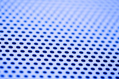 Closeup Image of Perforated Metal Royalty Free Stock Photography