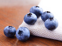 Closeup Image of Ripe Sweet Blueberries Royalty Free Stock Image