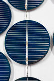 Closeup image of solar panels details Stock Images
