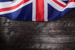 UK, British flag, Union Jack Royalty Free Stock Images