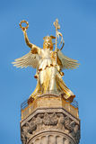 Closeup image of the Victory Column, Berlin Royalty Free Stock Images