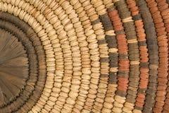 Closeup of Indian Basket Royalty Free Stock Photos