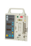 Closeup Infusion pump,isolate Royalty Free Stock Photo