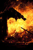 Intense fire Royalty Free Stock Photos