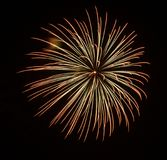 Closeup of isolated fireworks for compositing. Into your art Stock Photo