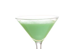 Closeup isolated grasshopper cocktail Royalty Free Stock Images