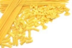 Closeup  italian pasta Royalty Free Stock Photos