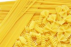 Closeup  italian pasta Stock Photography