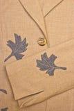 Closeup of  jacket. Asd background Stock Image