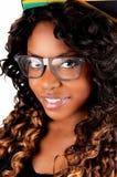 Closeup of Jamaican girl. Royalty Free Stock Photos