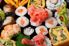 Closeup Japanese food. Royalty Free Stock Photo