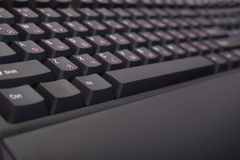 Closeup of  keyboard Stock Images
