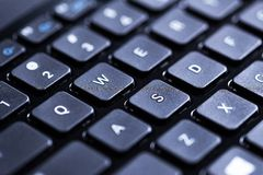 Closeup of a keyboard Royalty Free Stock Images