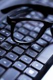 Closeup of a keyboard Royalty Free Stock Image