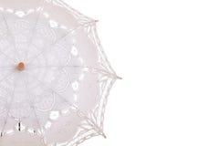 Closeup lace umbrella Stock Image