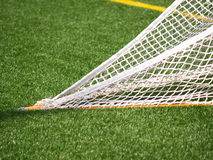 Closeup of lacrosse net Royalty Free Stock Photos