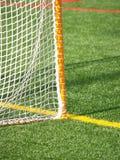 Closeup of lacrosse net stock photography