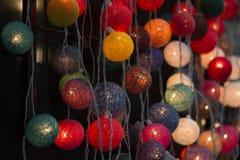 Closeup of lamps Stock Photos