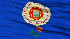 Closeup of Lancaster City Flag Stock Photos