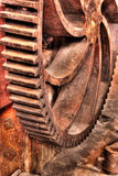 Closeup of Large Gear Stock Photo