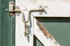White Latch Royalty Free Stock Photo