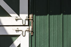 White Latch Stock Photography
