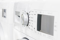 Closeup of laundry or washing machine Stock Photos