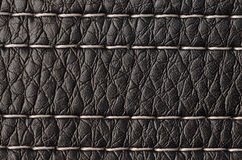Closeup on a leather texture Royalty Free Stock Images
