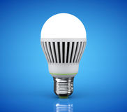 Closeup LED bulb Stock Photography