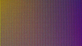 Closeup LED bulb diode from computer monitor screen display. Stock Images