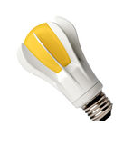 Closeup LED bulb Stock Photo