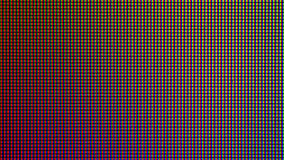 Closeup LED diode from LED TV or LED Monitor screen display. Stock Image