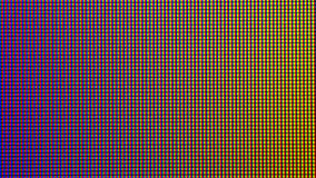 Closeup LED diode from LED TV or LED Monitor screen display. Royalty Free Stock Photography