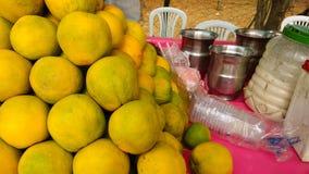Closeup lemons Royalty Free Stock Image