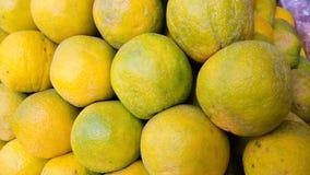 Closeup lemons Stock Photos