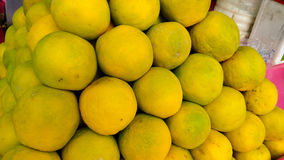 Closeup lemons Royalty Free Stock Photo