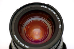 Closeup lens Stock Image