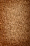 Closeup of linen fabric Stock Image