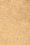 Closeup of linen fabric Stock Photography