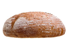 Closeup of loaf of bread royalty free stock images