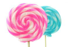 Closeup of Lollipops Stock Photos